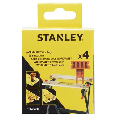 Stanley Black and Decker Workmate Work Bench Vice Clamping Pegs x4 WM301 WM825