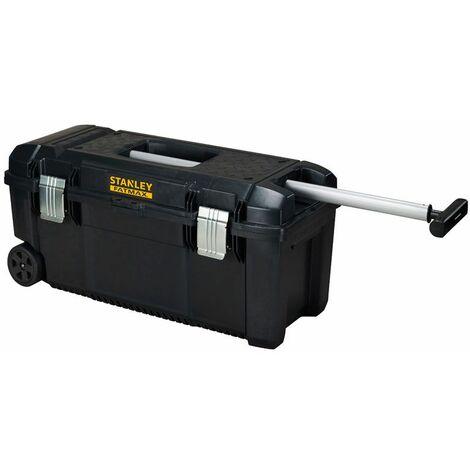 Stanley Boite a outils etanche poignee telescopique et roulettes FatMax - FMST1-75761