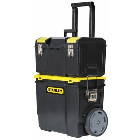 STANLEY Boîte d'assemblage mobile, chariot ? outils avec organisateur 1-70-326