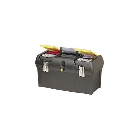 Stanley - Caja herramientas Milenium con cierres metálicos Stanley
