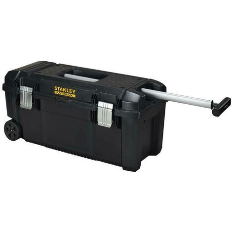 """main image of """"Stanley cassetta porta-utensili con ruote+maniglione telescopico fmst1-75761"""""""