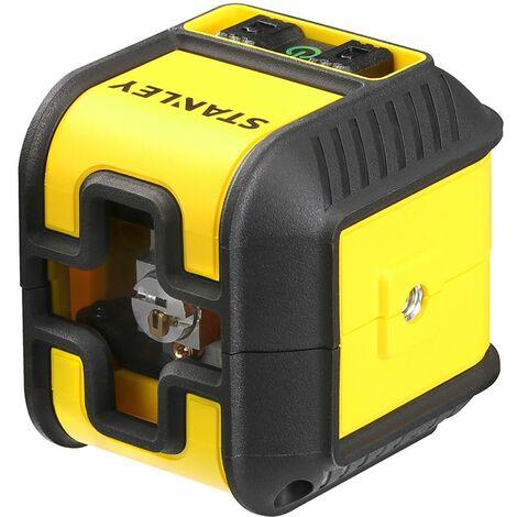 Stanley Cubix Niveau laser croix automatique - 16 m de rayon d'action ( STHT-77499-1 )