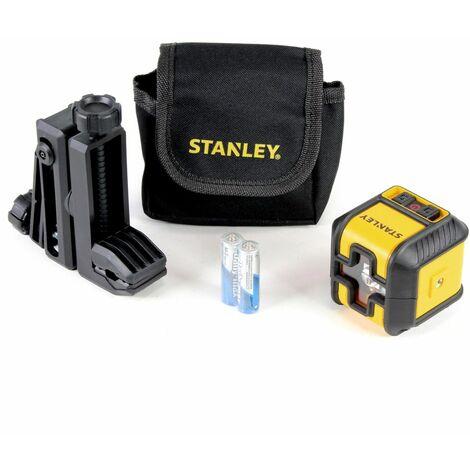 Stanley Cubix Niveau laser ( rouge ) croix à nivellement automatique - 12 m de rayon d'action ( STHT-77498-1 )