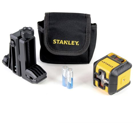 Stanley Cubix Nivel láser en cruz / rojo / autonivelante / 12 m ( STHT-77498-1 )
