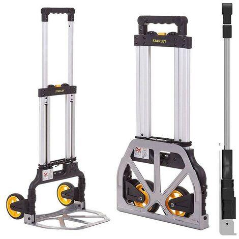 Stanley Diable porte-bagages en aluminium 50 x 53 x H107 cm pliable FT503