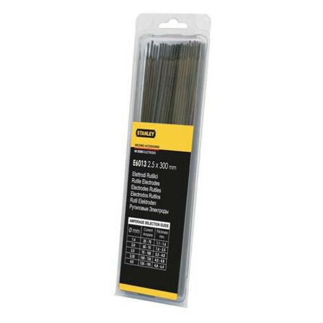 STANLEY Electrodes de soudure - rutiles - hb r 3.25x300 mm (15x) (90491)