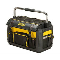 Stanley Fatmax 1-79-213 Plastic and Fabric Open Tote with Cover 20""