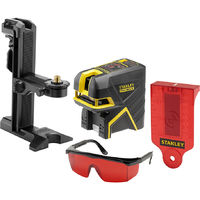 Stanley-fatmax Livella laser a croce + 2 punti rosso FMHT1-77414