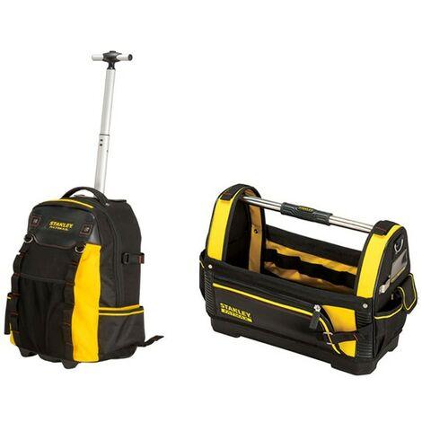 "main image of ""Stanley Fatmax Wheel Backpack STA179215 18"" Tote Bag STA193951 1-79-215 1-93-951"""