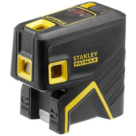 STANLEY FMHT1-77413 - Nivel laser de 5 puntos - Rojo. 30 metros mas menos 3mmm