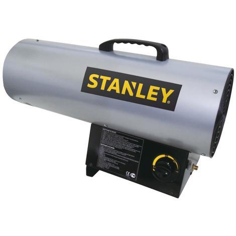 Stanley Générateur d'air chaud au gaz 12,3 kW chauffage 227 m³ chantiers serres