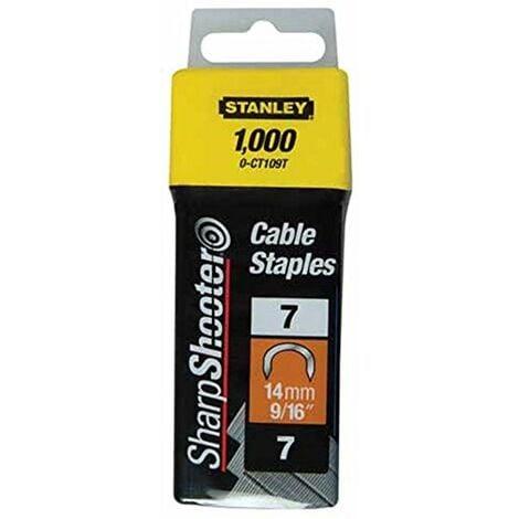 Stanley Grapa cable tipo 7 1000 unidades
