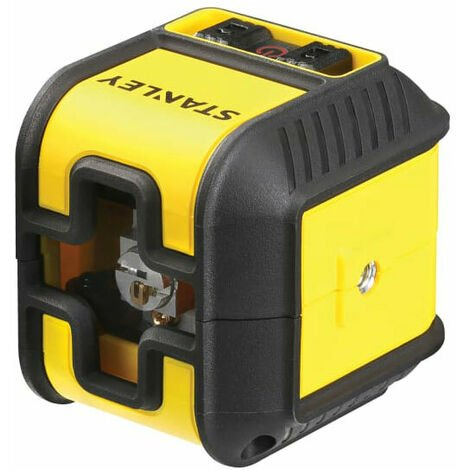 Stanley Intelli Tools INT177498 Cubix Cross Line Laser Level (Red Beam)