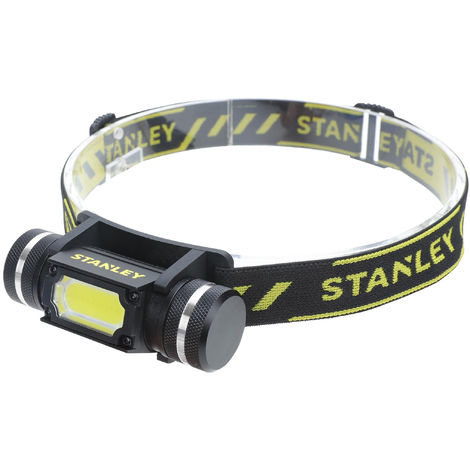 STANLEY Lampe frontale Led - 15 m - 200 lumens
