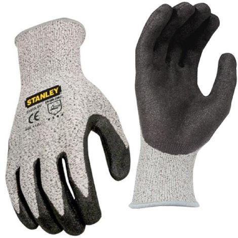 Stanley Level 5 Gripper Glove (One Size) (Grey)