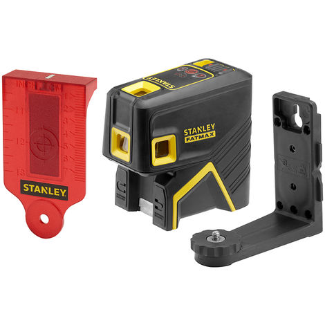 Stanley Livella laser 5 punti FATMAX, rosso - FMHT1-77413