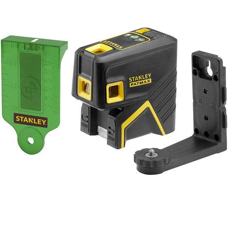 Stanley Livella laser 5 punti FATMAX, verde - FMHT1-77437