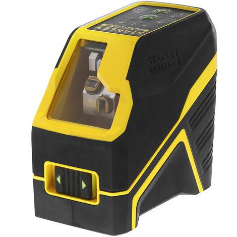 Stanley Livella laser a croce FATMAX con batterie alkaline, raggio verde - FMHT77586-1