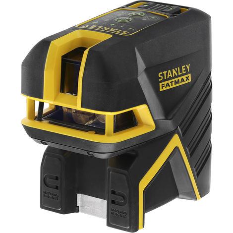 Stanley Livella laser al litio a croce + 2 punti FATMAX SCGi-P2, raggio verde - FMHT77597-1