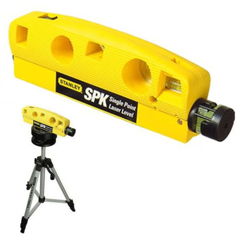 Stanley Livella laser puntatore singolo max15mt treppiedi regolabile STHT1-77186
