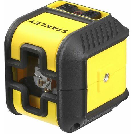 Stanley - Mehrlinien-Laser-Nivelliergerät mit 10 m bis 50 m Reichweite Roter Laser - STHT77514-1 -