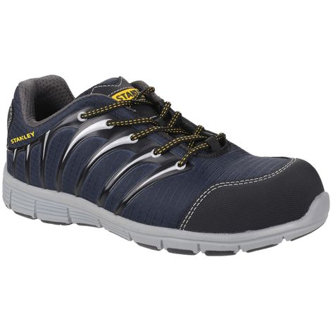 Stanley Mens Globe Lace Up Safety Trainers (11 UK) (Navy/Grey)