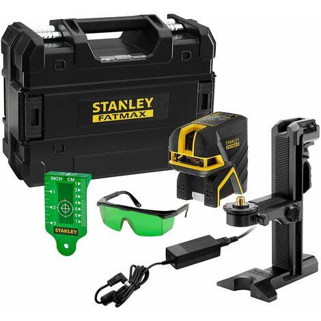 Stanley Niveau laser croix + 5 points, SCPG5 vert, Li-Ion - FMHT77598-1