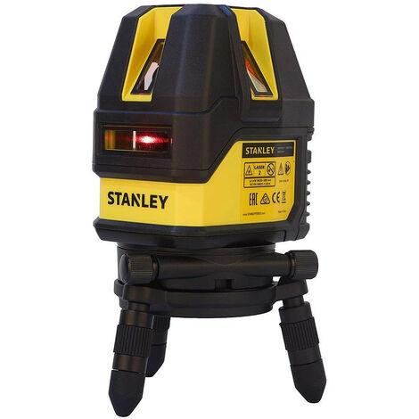 Stanley - Niveau laser multiligne plage d'utilisation 10 m à 50 m laser rouge - STHT77514-1 - TNT