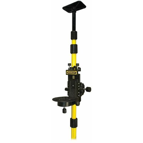 Stanley Pack 3 accessoires : canne telescopique + embase coulissante + support magnetique - 1-77-221