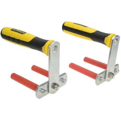 Stanley Panel Carrier Plasterboard Handles Twin Pack STA105868 STHT1-05868