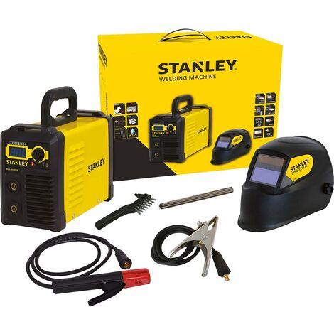 STANLEY POSTE A SOUDER - 4609460 - INVERTER PRESS - 160 A + ACCESS - NOIR/JAUNE MECAFER