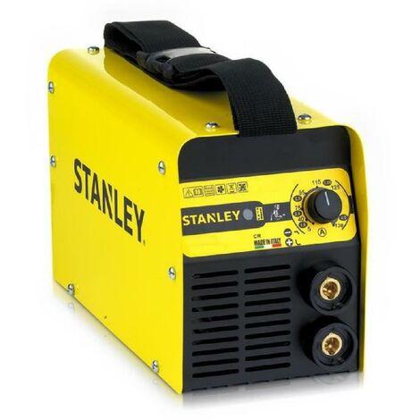 STANLEY Poste a souder Star 3200 130 A avec cagoule de soudure automatique LCD DIN 9-13 + 5 électrodes