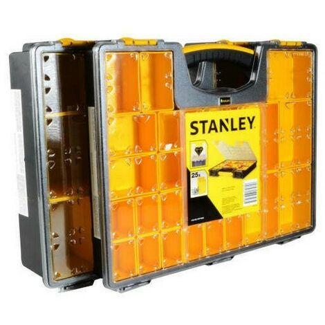 Stanley Pro Organisers Deep & Shallow Twin Pack