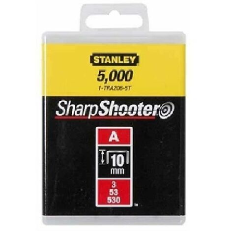 STANLEY PUNTI TIPO A 1000 PZ 10MM 1-TRA206T