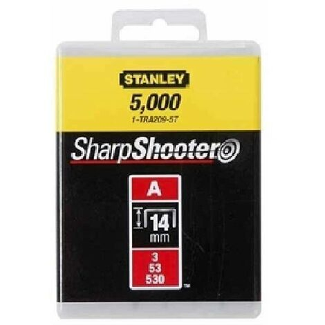 STANLEY PUNTI TIPO A 1000 PZ 14MM 1-TRA209T