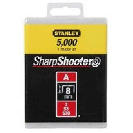 STANLEY PUNTI TIPO A 1000 PZ 8MM 1-TRA205T