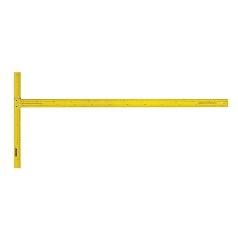 Stanley STA105894 Drywall T-Square Metric 1220mm (4ft)