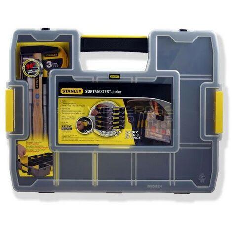 Stanley STA197483 Sortmaster Junior Organiser Tool Box Seal Tight 1-97-483