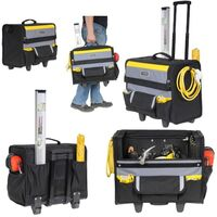 Stanley STA197515 18? Soft Tool Bag On Wheels Wheeled 1-97-515