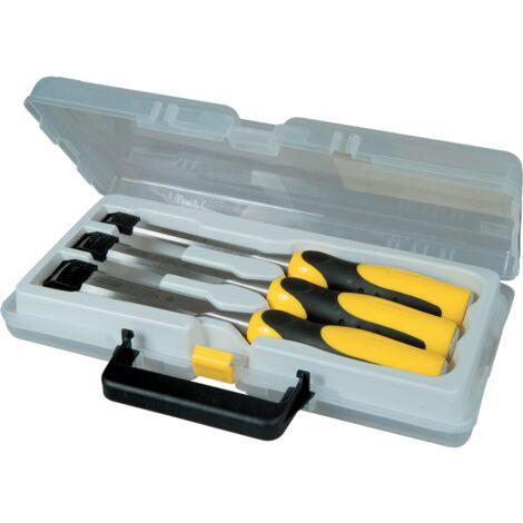 Stanley Stechbeitel-Set DynaGrip, 3-teilig, gelb/schwarz