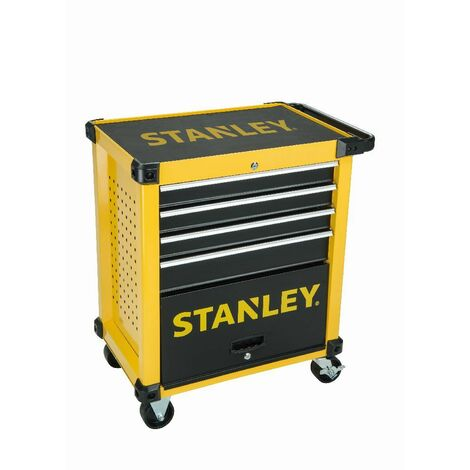 STANLEY STMT1-74305 - metal chariot D'atelier 4 tiroirs