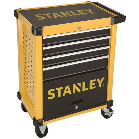 Stanley STMT1-74305 Transmodule. Carro metálico para taller 4 cajones