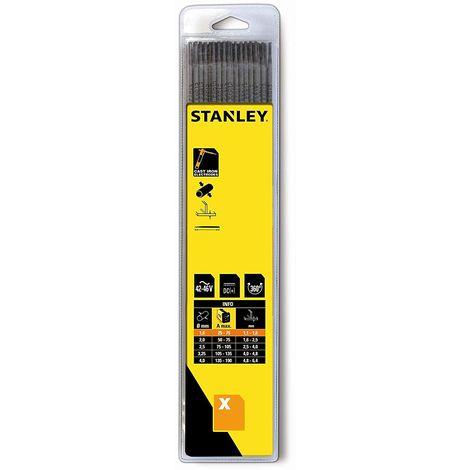 Stanley swa90028électrodes de soudage 2,5mm pour en fonte (Lot de 12)