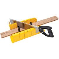 Stanley Tagliacornici ABS + sega a dorso 350mm taglia cornici quadri 1-20-600