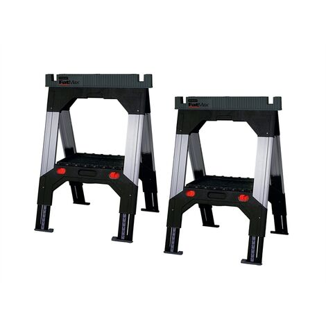 Stanley Tools FatMax Telescopic Saw Horses (Twin Pack)