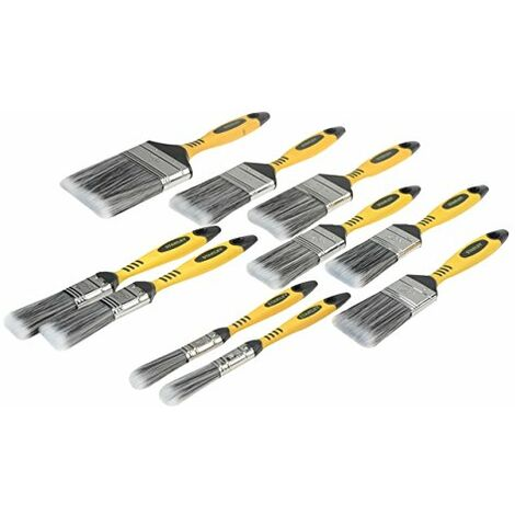 """main image of """"Stanley Tools Loss Free Synthetic Brush Pack 10 Piece"""""""