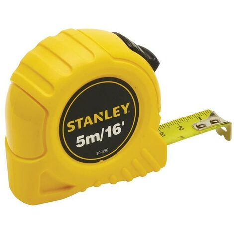 Stanley Tools STA030496 Pocket Tape 5m/16ft (Width 19mm)