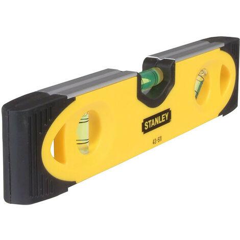 Stanley Tools STA043511 Magnetic Shockproof Torpedo Level 230mm
