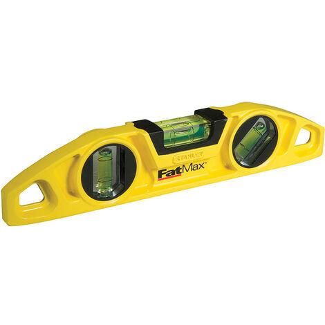 Stanley Tools STA043603 FatMax Torpedo Level 22cm