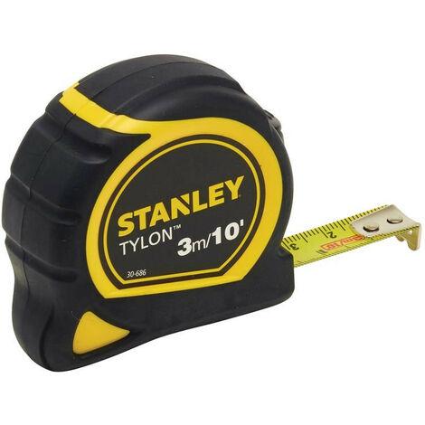 Stanley Tools STA130686N Tylon™ Pocket Tape 3m/10ft (Width 13mm) Loose